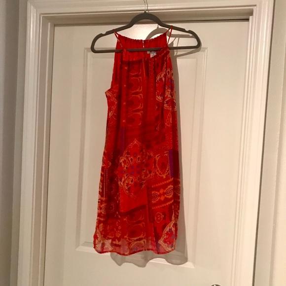 Sweet Storm Dresses & Skirts - Adorable orange paisley dress